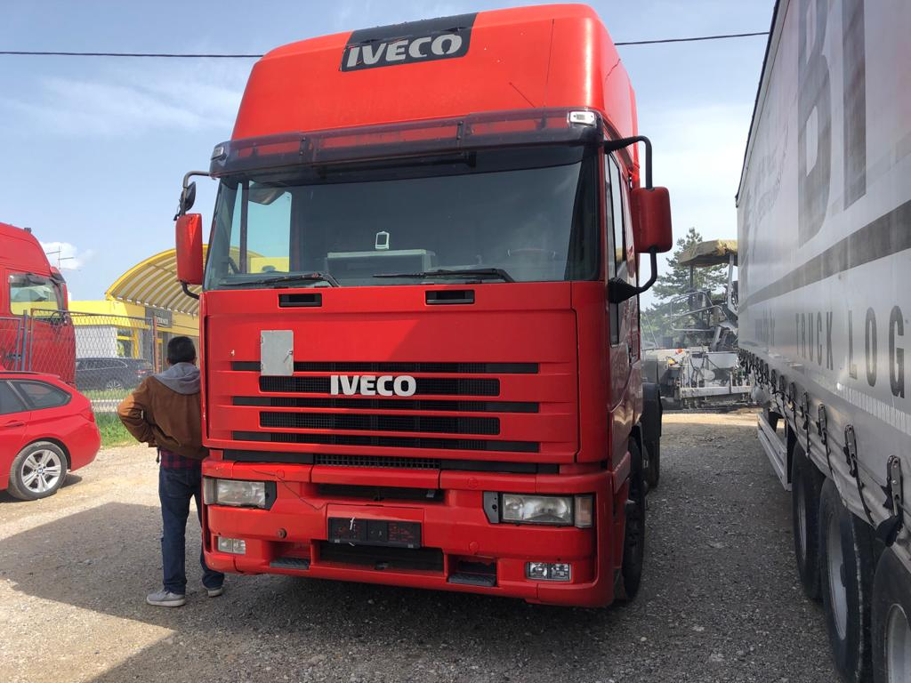 Left hand drive Iveco Eurostar trailer head, 470hp Manual pump & Injectors