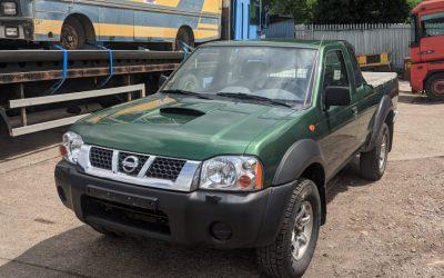 Left hand drive, Nissan Navara, 4×4 Pickup, King Cab