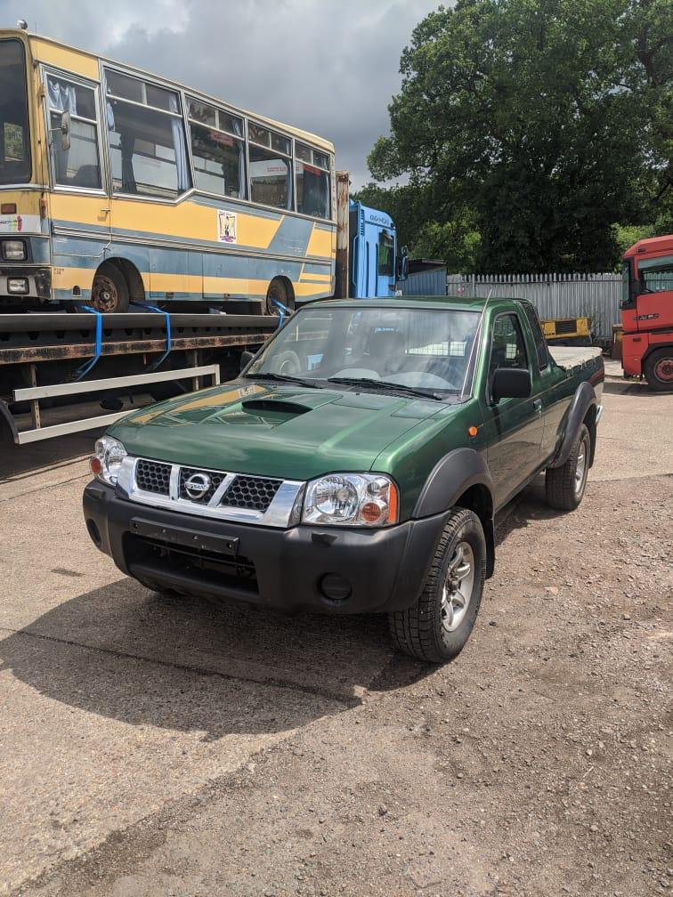 Left hand drive, Nissan Navara, 4×4 Pickup, King Cab,