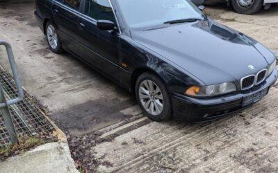 Left Hand Drive BMW 520D estate car