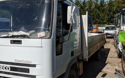 Left hand drive, Iveco Eurocargo drop-side truck