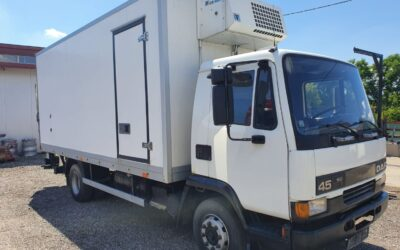 Left hand drive DAF 45.160 Refrigerated truck