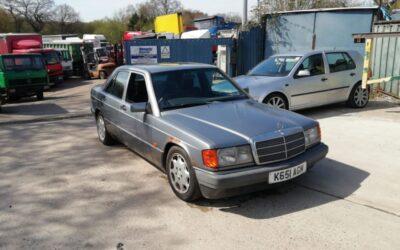 Mercedes 190D saloon