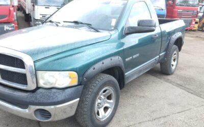 Left hand drive, Dodge Ram 1500 pick-up truck